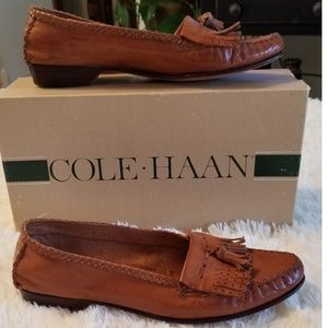 🌻 SALE Cole Haan Leather Tassell Loafers